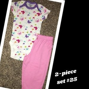 Other - Baby girl 2-piece outfit🎀NWOT!🎀